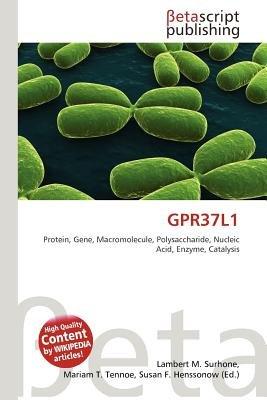 Gpr37l1 (Paperback): Lambert M. Surhone, Mariam T. Tennoe, Susan F. Henssonow