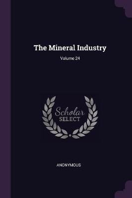 The Mineral Industry; Volume 24 (Paperback): Anonymous