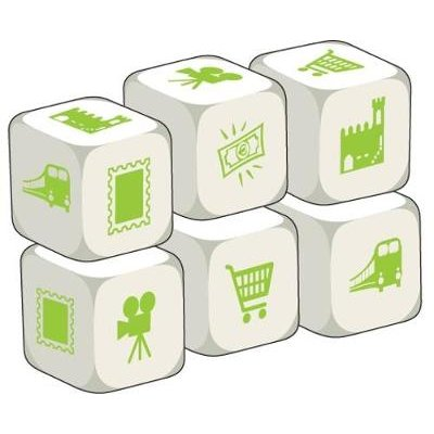 Talking Dice: Places in Town - Pack of 6 (General merchandise): Stephane Derone