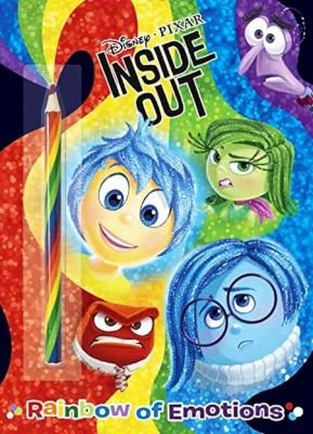 Inside Out: Rainbow Of Emotions - Color Plus Rainbow Pencil (Paperback): Random House Disney