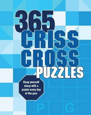 365 Puzzles Criss-Cross (Spiral bound):