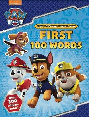 PAW Patrol: First 100 Words Sticker Book (Paperback): Scholastic
