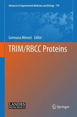 TRIM/RBCC Proteins (Hardcover, annotated edition): Germana Meroni