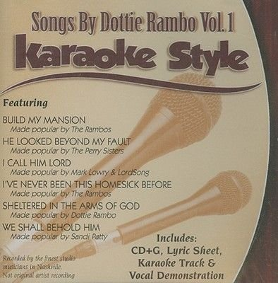 Songs by Dottie Rambo, Volume 1, Karaoke Style (CD): Dottie Rambo