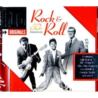 Ultimate 16-Originals - Rock and Roll 50th Anniversary (CD): Various Artists, Ultimate 16-Originals