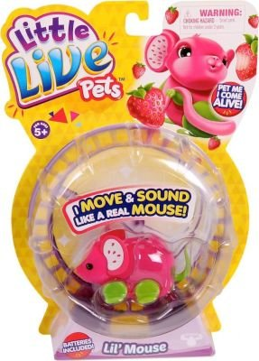 Little Live Pets S2 Lil Mouse Single Pack (Assorted) (Supplied pack may vary):