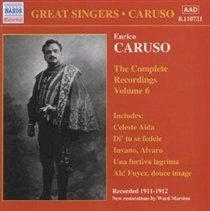 Various Artists - Complete Recordings Volume 6 (CD): Victor Orchestra, Enrico Caruso, Various Composers, Various Artists