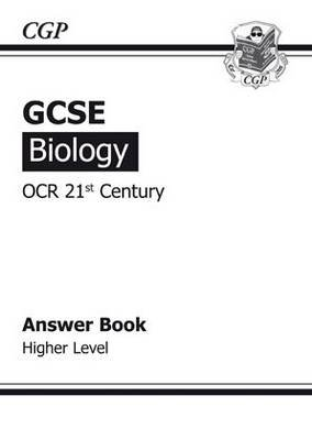 GCSE Biology OCR 21st Century Answers (for Workbook) - Higher (Paperback): Richard Parsons