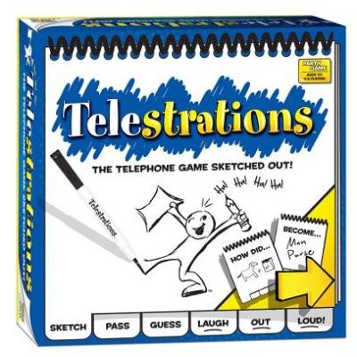 Telestrations Game: USAopoly