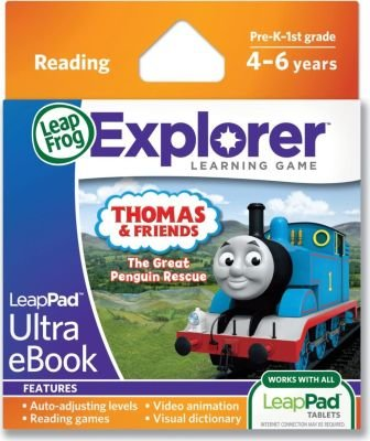 LeapFrog LeapPad Thomas & Friends: The Great Penguin Rescue Ultra eBook (Leapster Explorer):
