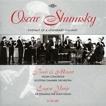 Various Composers - Portrait of a Legendary Violinist (Shumsky, Scottish Co) (CD): Various Composers, Oscar Shumsky