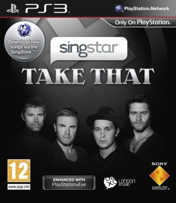 SingStar Take That (PlayStation 3, DVD-ROM):