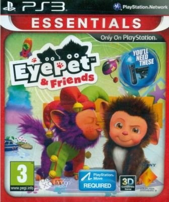EyePet & Friends (Essentials) (PlayStation 3, DVD-ROM):