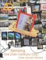 Sensing the 21st Century City - The Net City Close-up and Remote (Paperback, New): David Grahame Shane, Brian McGrath