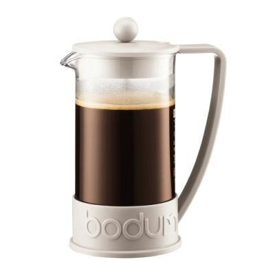 Bodum Brazil Coffee Press (8 Cup)(1 Litre)(White):