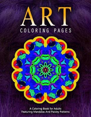 Art Coloring Pages, Volume 3 - Adult Coloring Pages (Paperback): Jangle Charm