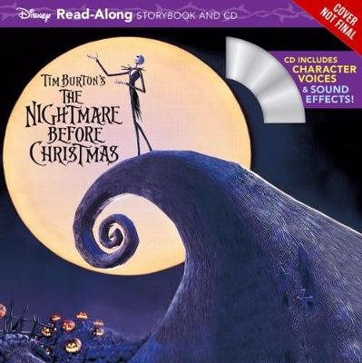Tim Burton's The Nightmare Before Christmas - Read-Along Story Book and CD (Paperback): Disney Book Group
