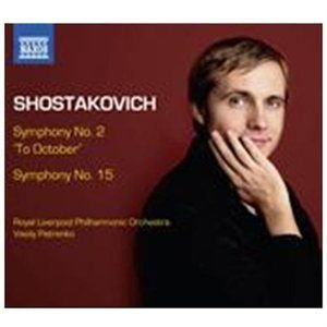 Various Artists - Shostakovich: Symphony No. 2, 'To October'/... (CD): Dmitri Shostakovich, Vasily Petrenko, Royal...