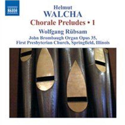 Wolfgang Rubsam - Helmut Walcha: Chorale Preludes (CD): Helmut Walcha, Wolfgang Rubsam