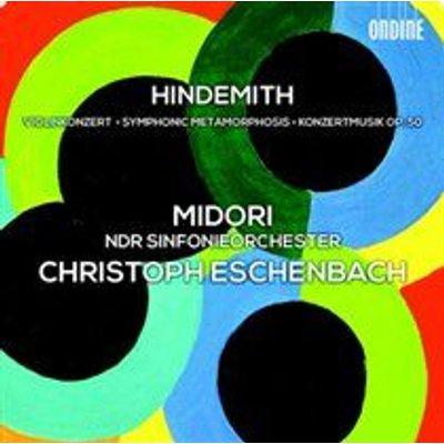 Various Artists - Hindemith: Violinkonzert/Symphonic Metamorphosis/... (CD): Paul Hindemith, Christoph Eschenbach, Midori, NDR...