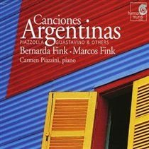 Various Artists - Canciones Argentinas (Fink, Piazzini) (Spanish, CD): Various Composers, Marcos Fink, Bernarda Fink, Carmen...