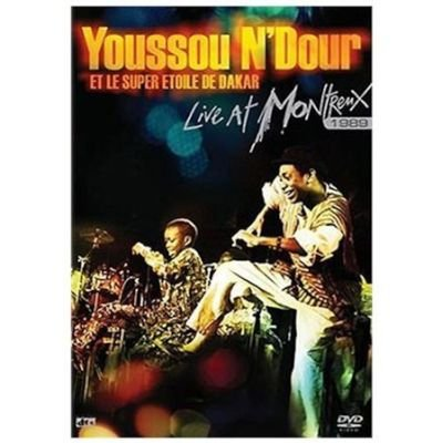 Youssou N Dour-Live At Montreux 1989 (Region 1 Import DVD):