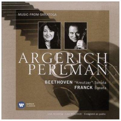 Various Artists - Beethoven: 'Kreutzer' Sonata/Franck: Sonata (CD): Ludwig Van Beethoven, Cesar Franck, Itzhak...