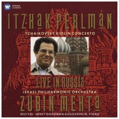 Various Artists - Live in Russia (CD): Itzhak Perlman, Pyotr Ilyich Tchaikovsky, Zubin Mehta, Janet Goodman Guggenheim, Israel...