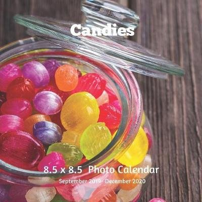 Candies 8.5 X 8.5 Calendar September 2019 -December 2020 - Monthly Calendar with U.S./UK/ Canadian/Christian/Jewish/Muslim...