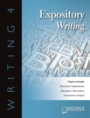Expository Writing eBook (Electronic book text): Saddleback Educational Publishing
