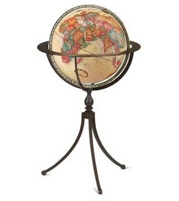 The Marin (Globe / planisphere):