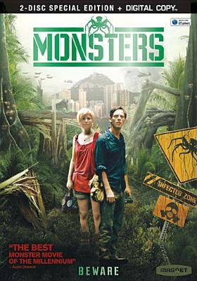 Monsters (Region 1 Import DVD, /Special Editio): Scoot McNairy, Whitney Able