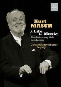 Various Artists - Kurt Masur: A Life in Music (DVD): Kurt Masur, Leipzig Gewandhaus Orchestra, Johannes Brahms