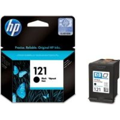HP 121 Inkjet Cartridge (Black):