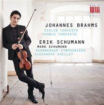 Various Artists - Johannes Brahms: Violin Concerto/Double Concerto (CD): Johannes Brahms, Alexander Shelley, Erik Schumann,...