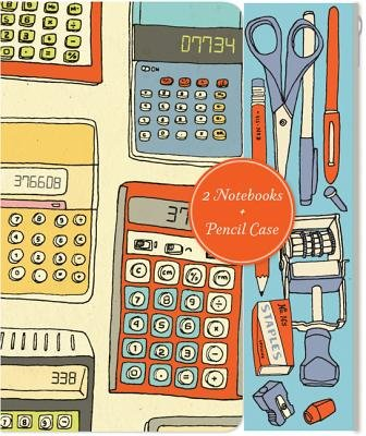 Notes and Calculations - Notebooks and Pencil Case Set (Other merchandize): Julia Rothman