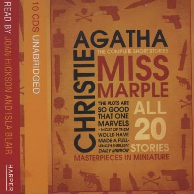 Miss Marple Complete Short Stories Gift Set (Standard format, CD,  Unabridged edition)