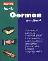 Basic German Berlitz Workbook (Paperback, Workbook): Berlitz Guides