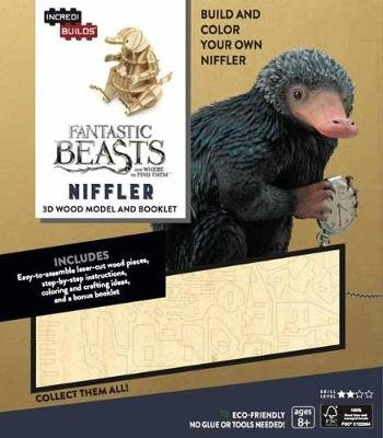 IncrediBuilds: Fantastic Beasts and Where to Find Them - Niffler 3D Wood Model and Booklet (Paperback, Proprietary ed.): Ramin...
