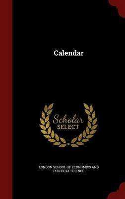 Calendar (Hardcover): London School of Economics and Political