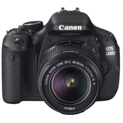Canon EOS 600D Digital SLR Camera with EF-S 18-55mm Canon Lens (18MP):