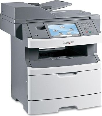 Lexmark X464DE Multifunction Colour Laser Printer: