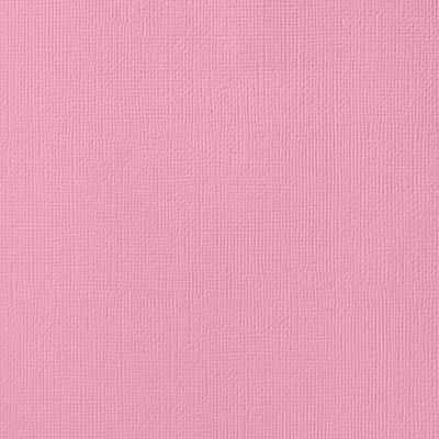 American Crafts Textured Cardstock - Cotton Candy (12x12)(10 Sheets):