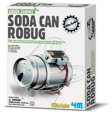 4M Green Science - Soda Can Robug: