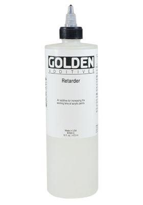 Golden Acrylic Medium - Retarder (473ml):