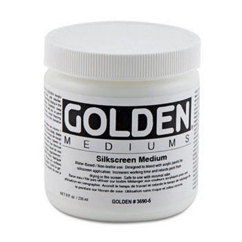 Golden Acrylic Medium - Silk Screen Medium (236ml):