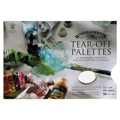 Winsor And Newton Tear off Palette (50 Sheets):