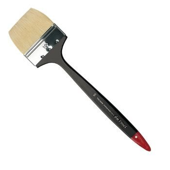 Da Vinci Long Handled Flat Bristle Brush (Series 7055)(100mm):