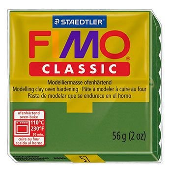 Staedtler Fimo Classic - Leaf Green (56g):