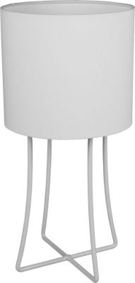 Fundi Lighting Jasper Table Lamp Set (Cotton) (White):